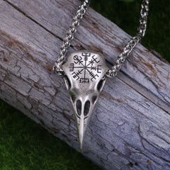 Raven Skull Necklace - Necklace