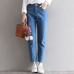School Style - Blue / S / China - Bottomwomen