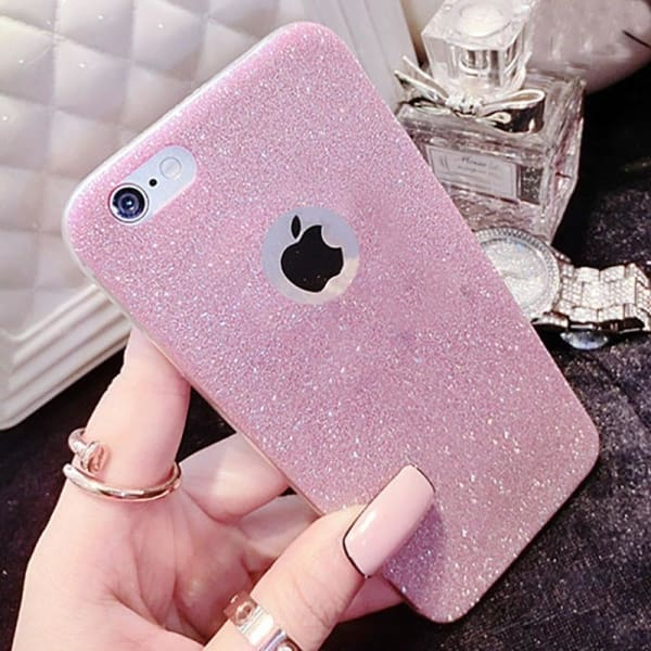Shinny Case For Iphone X 8 5 5S Se 6 6S 7 Plus - Phone Accessories