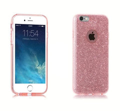 Shinny Case For Iphone X 8 5 5S Se 6 6S 7 Plus - Pink / For Iphone5 5S Se - Phone Accessories