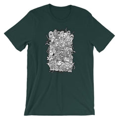Short-Sleeve Unisex T-Shirt - Forest / S