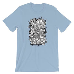 Short-Sleeve Unisex T-Shirt - Light Blue / S
