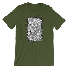 Short-Sleeve Unisex T-Shirt - Olive / S