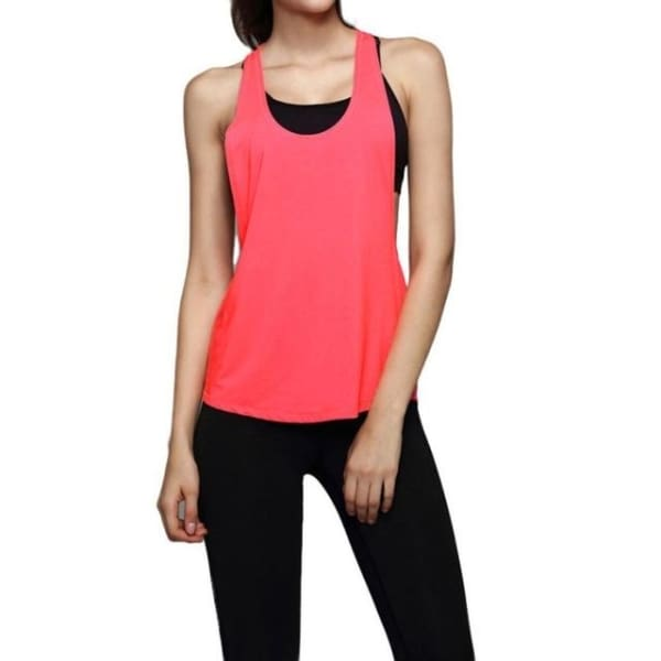 Sleeveless - Pink / L - Wtops