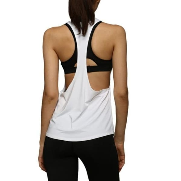 Sleeveless - White / L - Wtops