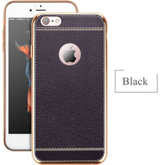Soft Silicone Cases For Iphone - Black / For Iphone 5 5S - Phone Accessories