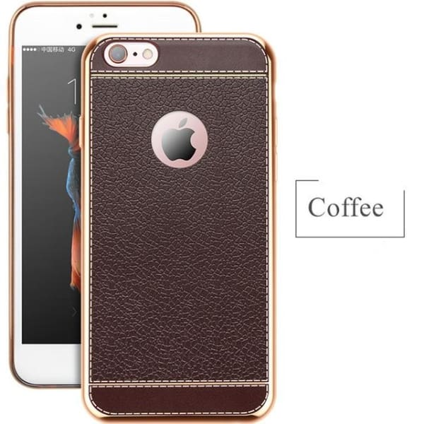 Soft Silicone Cases For Iphone - Brown / For Iphone 5 5S - Phone Accessories