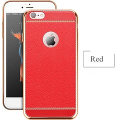 Soft Silicone Cases For Iphone - Red / For Iphone 5 5S - Phone Accessories