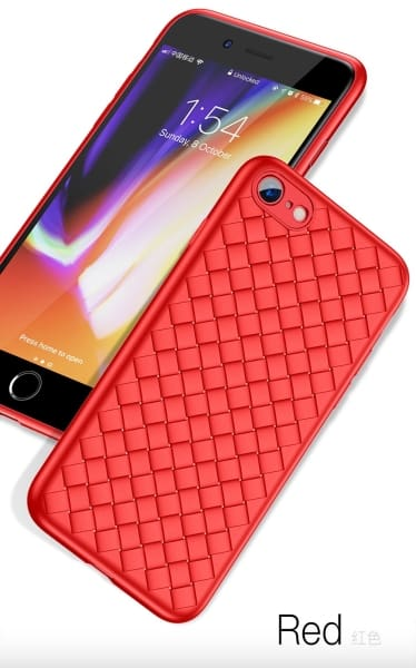 Ultra Thin Luxury Case Red - Phone Accessories