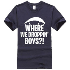 Where We Droppin Boys - Dark Blue / S - Mtops
