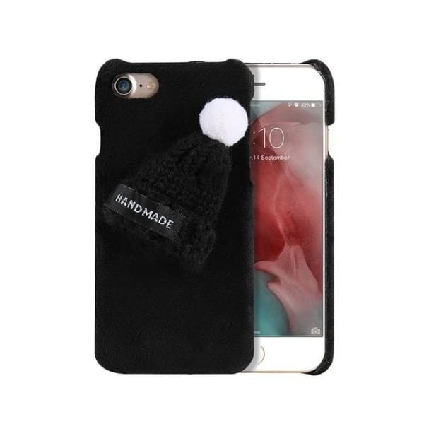 Winter Case For Iphone - Black / For Iphone 6 6S - Phone Accessories