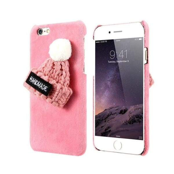 Winter Case For Iphone - Pink / For Iphone 6 6S - Phone Accessories