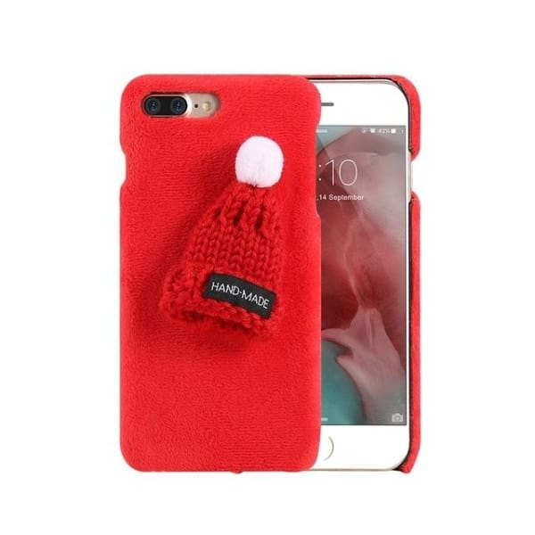 Winter Case For Iphone - Red / For Iphone 6 6S - Phone Accessories
