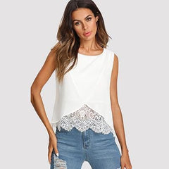 Wrap Top - White / Xs - Wtops