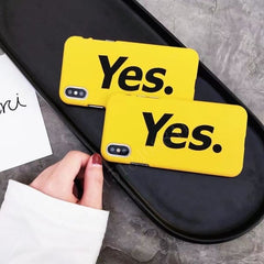 Yes Ultra Thin Yellow Cases - Phone Accessories