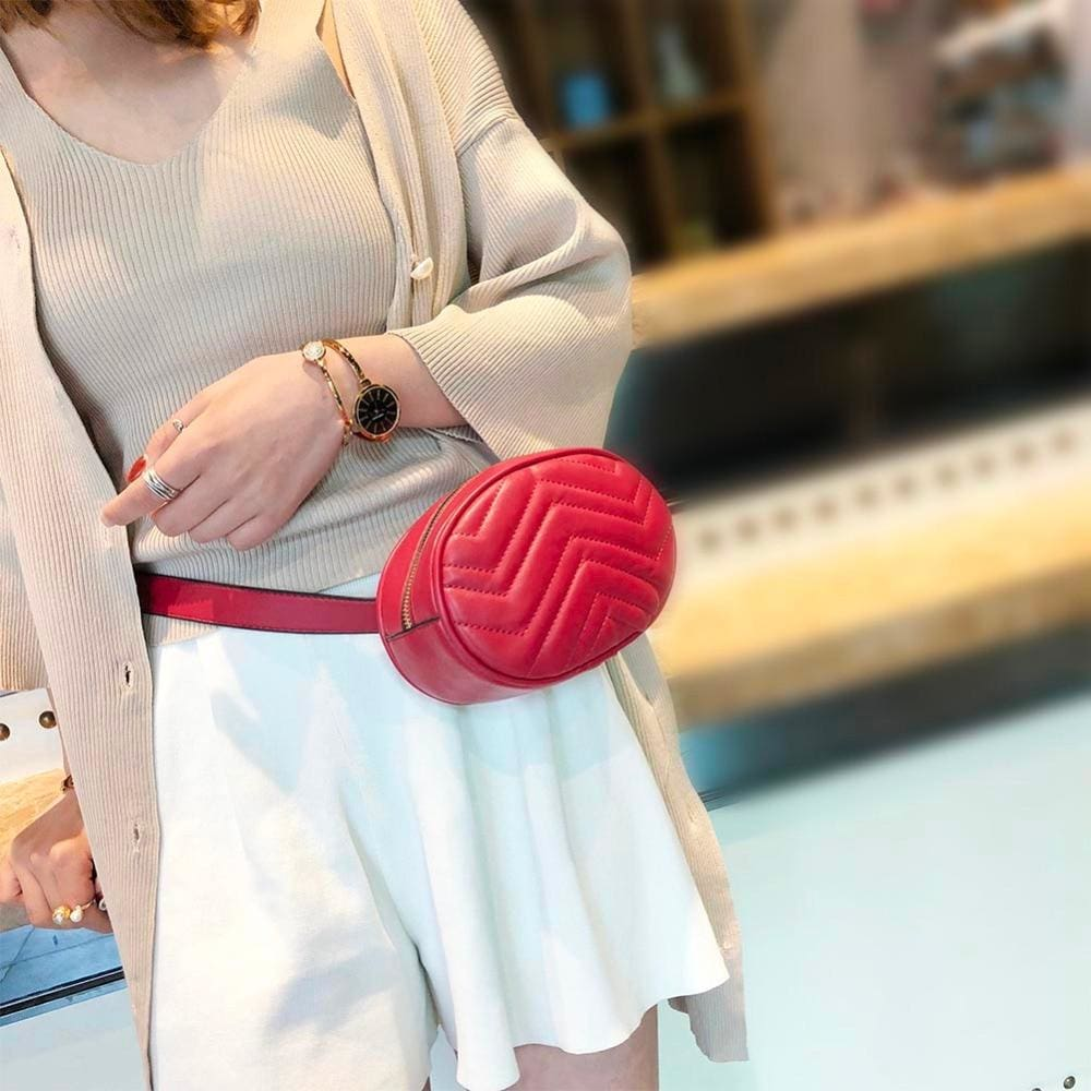 Zigzag Waist Bag - Beltbag