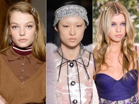 Heres How Celebs Are Wearing The Runways Glitzy Hair Accessories Trend On The Red Carpet