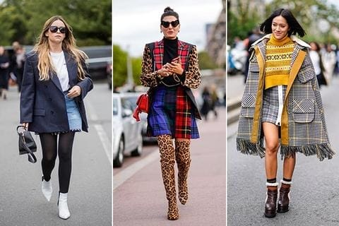 Yes You Can Wear (These) Miniskirts During The Winter