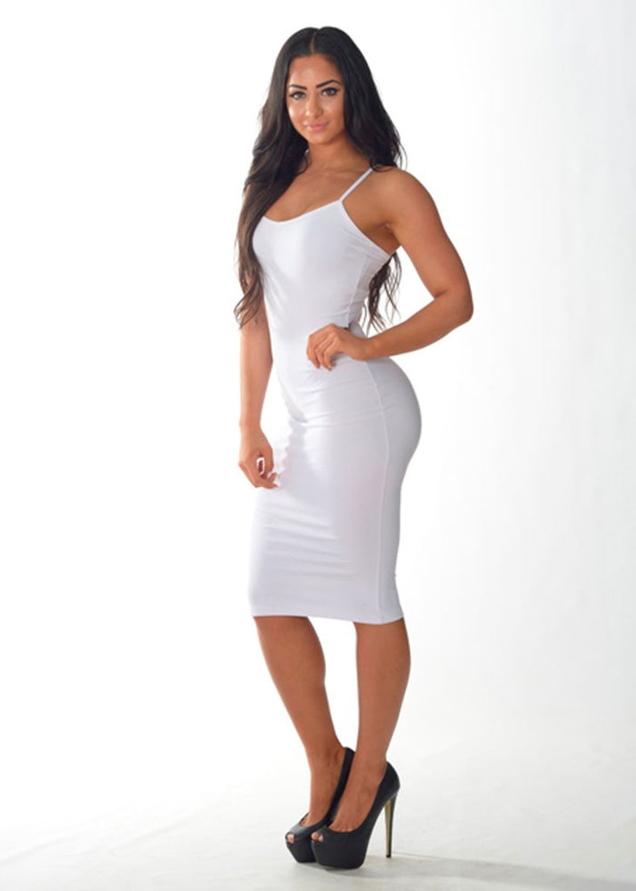 Summer Days Dress (White)