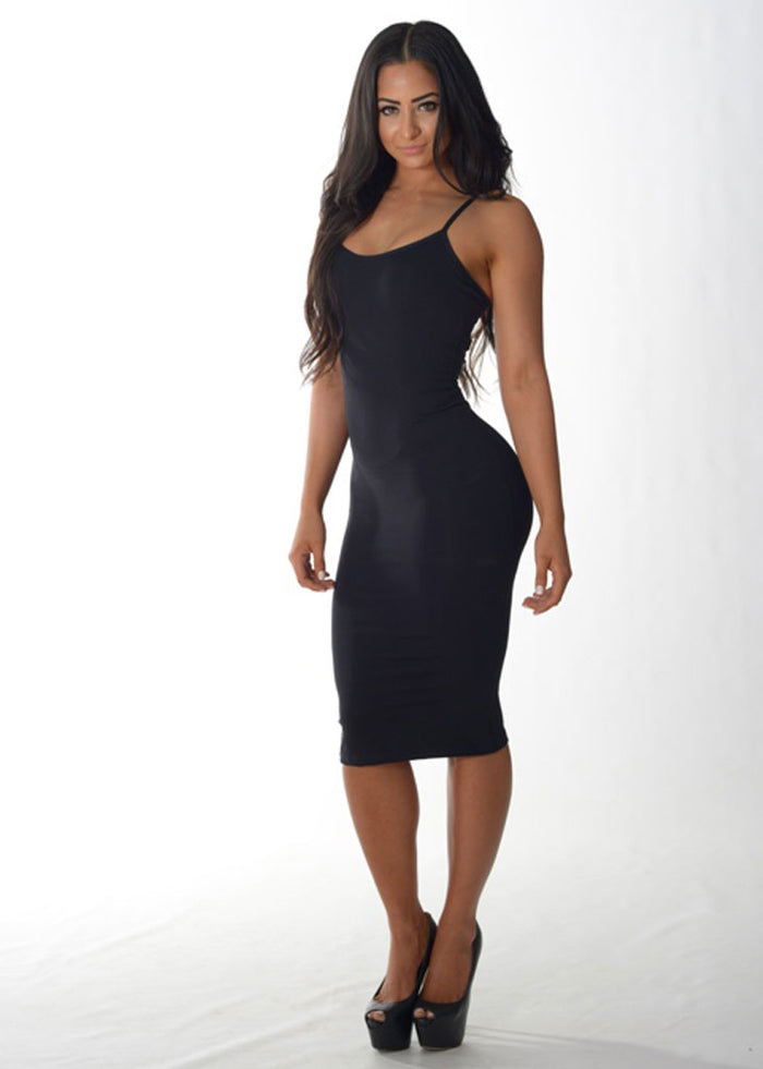 Summer Days Dress (Black)