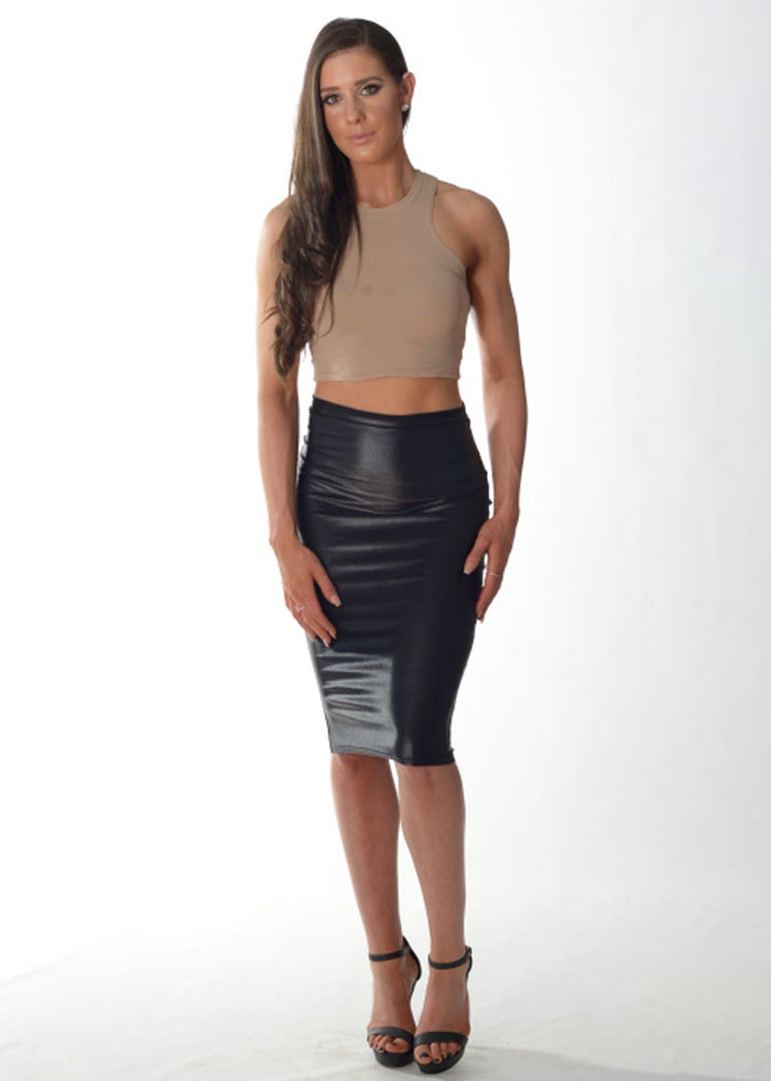Formal Fit Crop Top (Nude/Thick Straps)