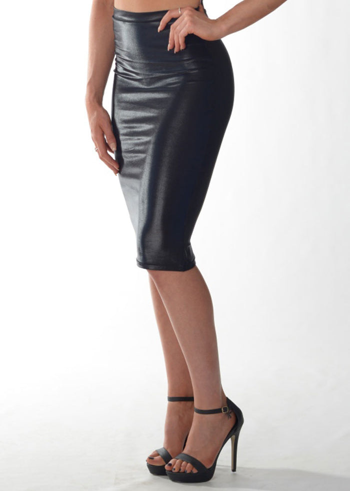 Skirt (Leather Look)