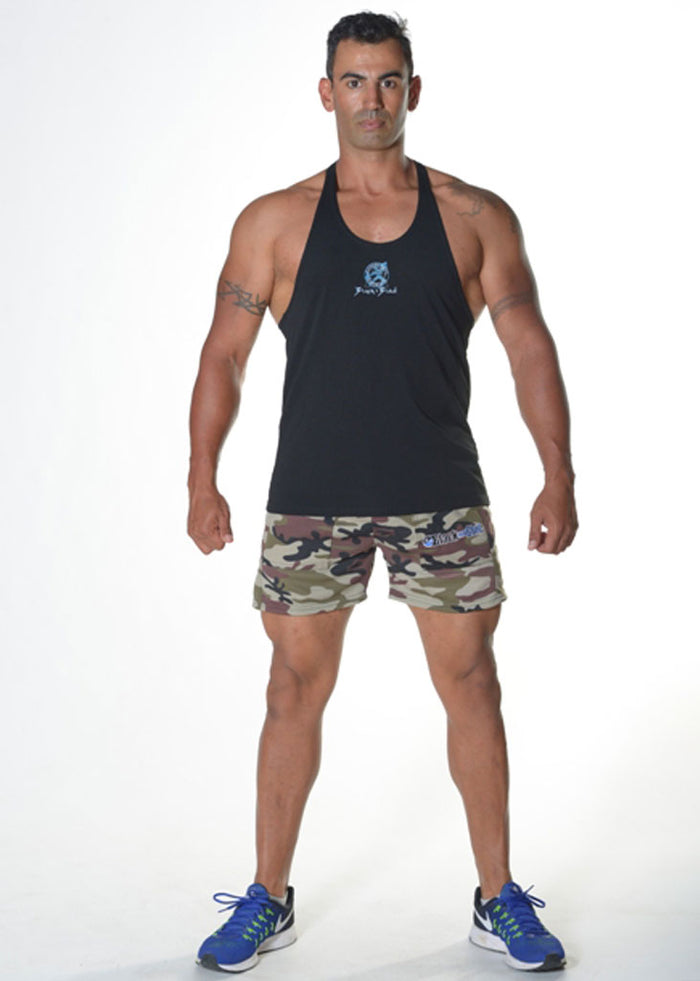 Fitness Camouflage Shorts