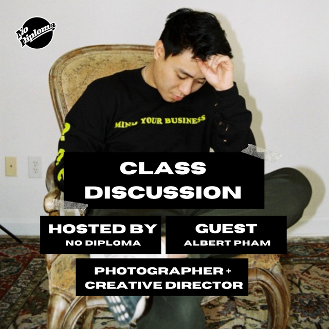 Class Discussion: Albert Pham