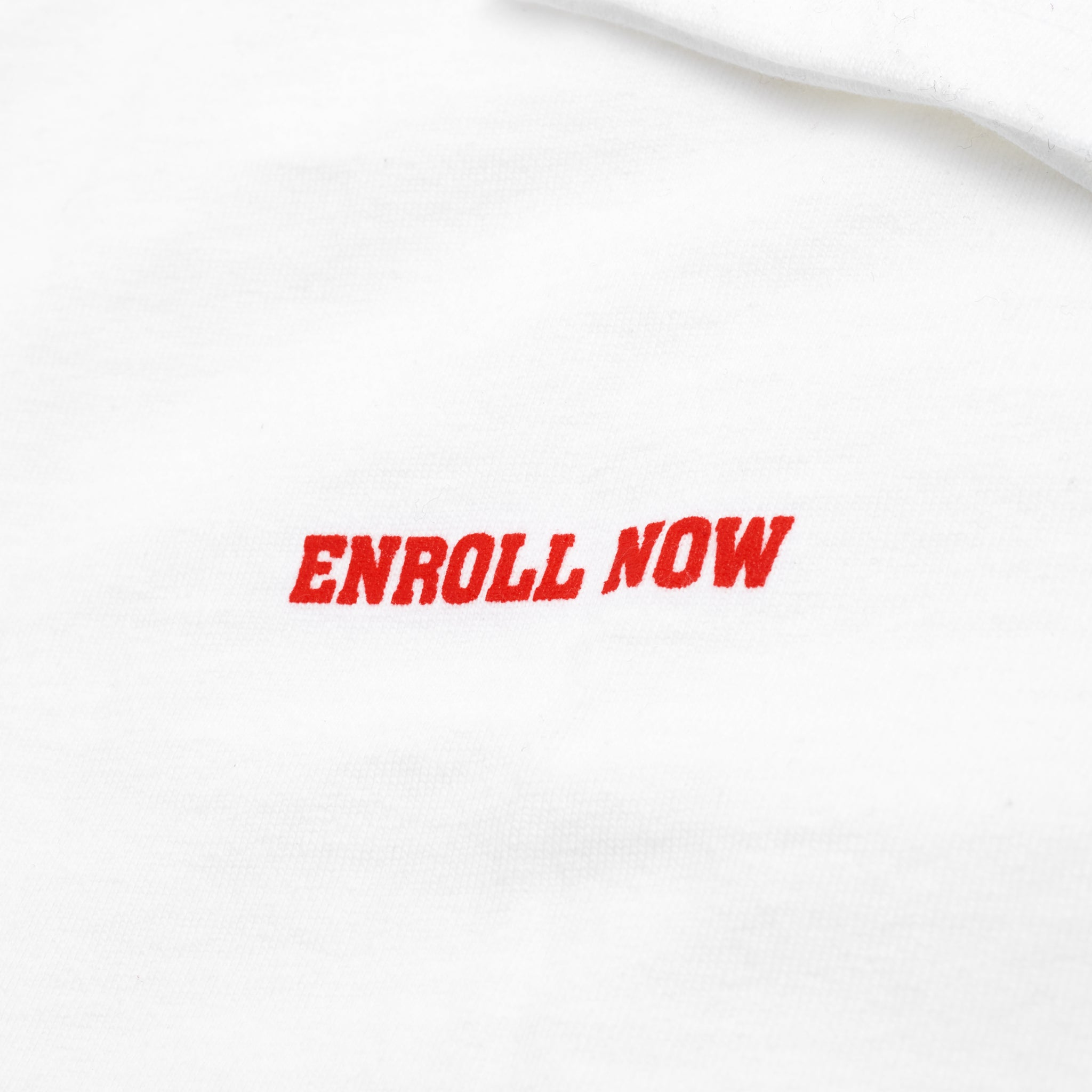 Academy Long Sleeve - White