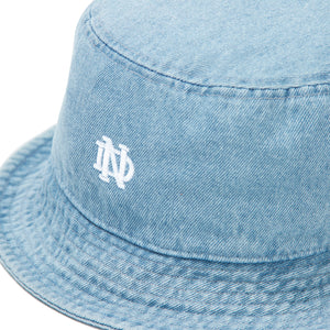 ND Academy Bucket Hat - Light Denim
