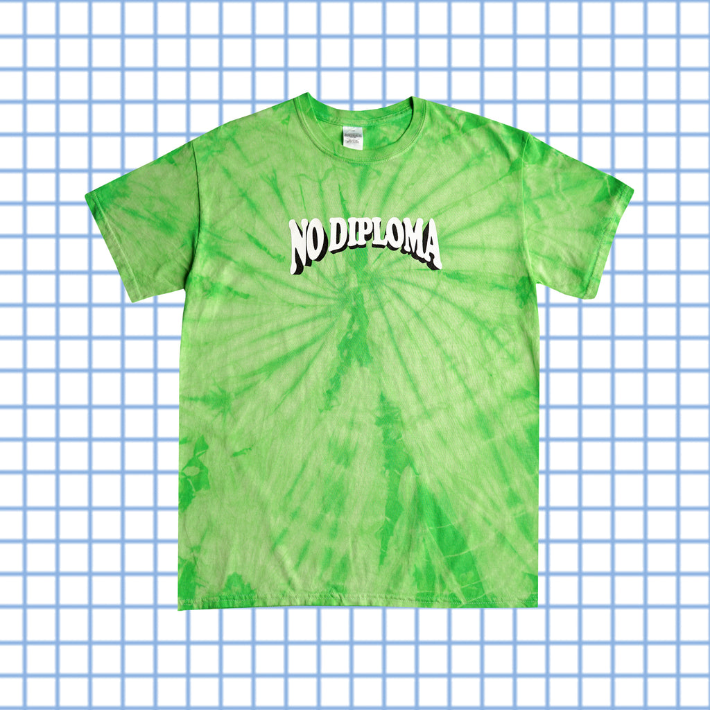 SUMMER SCHOOL - TIE DYE - LIME GREEN