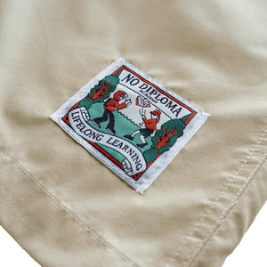Campus Shorts - Khaki