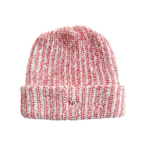 HONOR ROLL BEANIE - ND RED