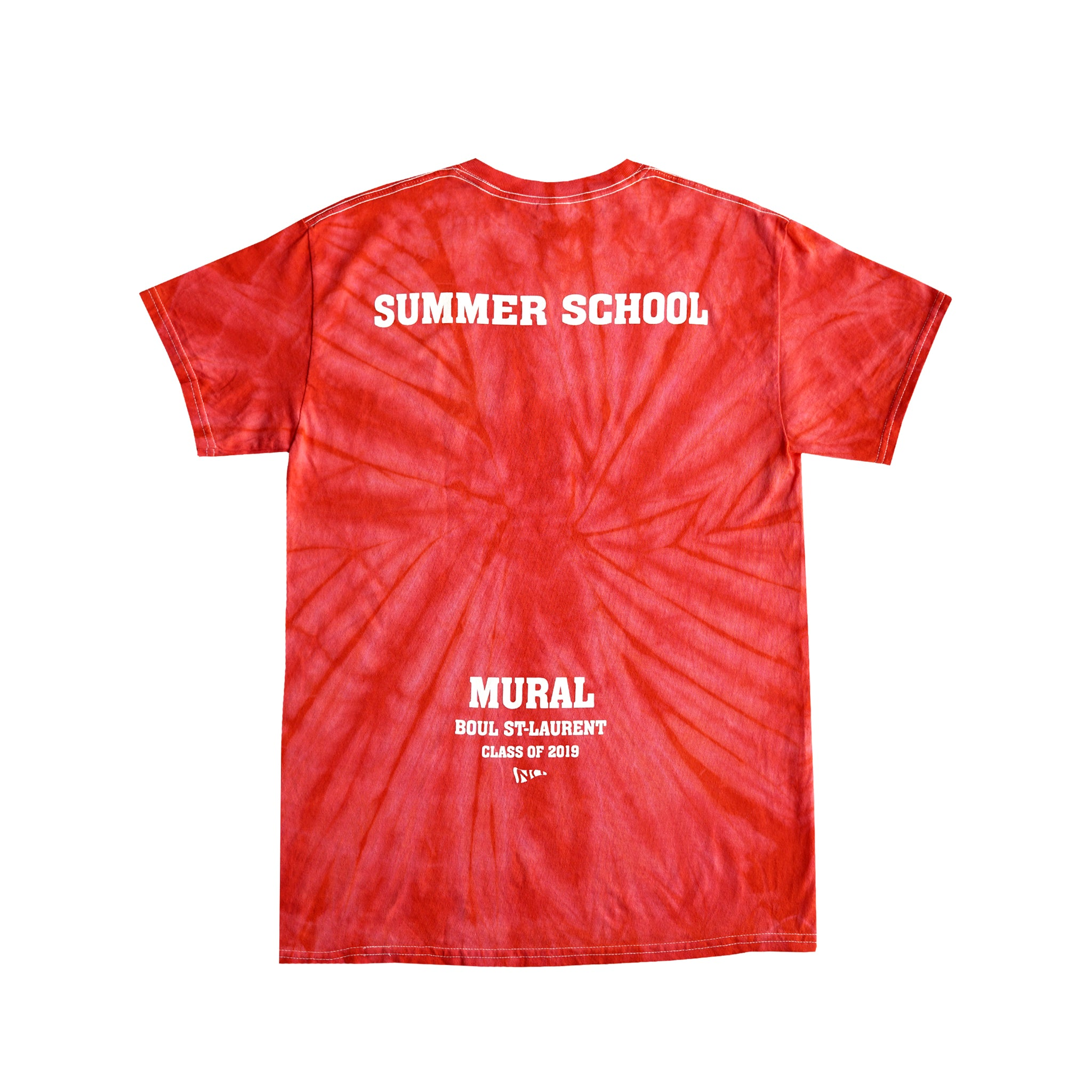 SUMMER SCHOOL - TIE DYE - RED