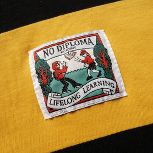 ND ACADEMY RUGBY SHIRT - YELLOW