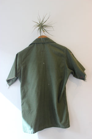 Vintage Short Sleeve ARMY Jacket