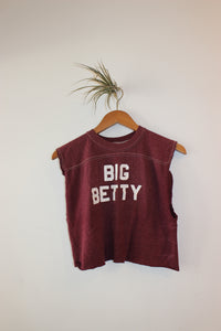 Vintage Big Betty Crop Tee