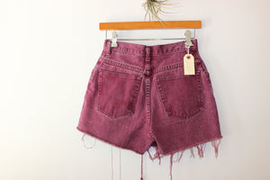 Vintage Wrangler Purple Distressed Jean Shorts