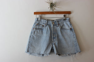 Vintage Levi's 501 Distress Denim Short