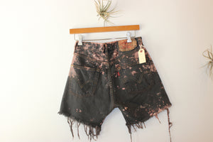 Vintage Levi's 501 Tie Dye Distress Shorts