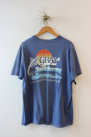 Vintage Gray Florida Taxidermy Tee