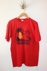 Vintage Red Better in the Bahamas Tee