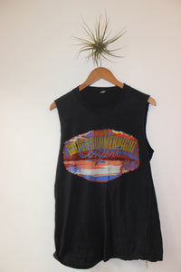 Vintage Golden Summer Night Cutoff Tee