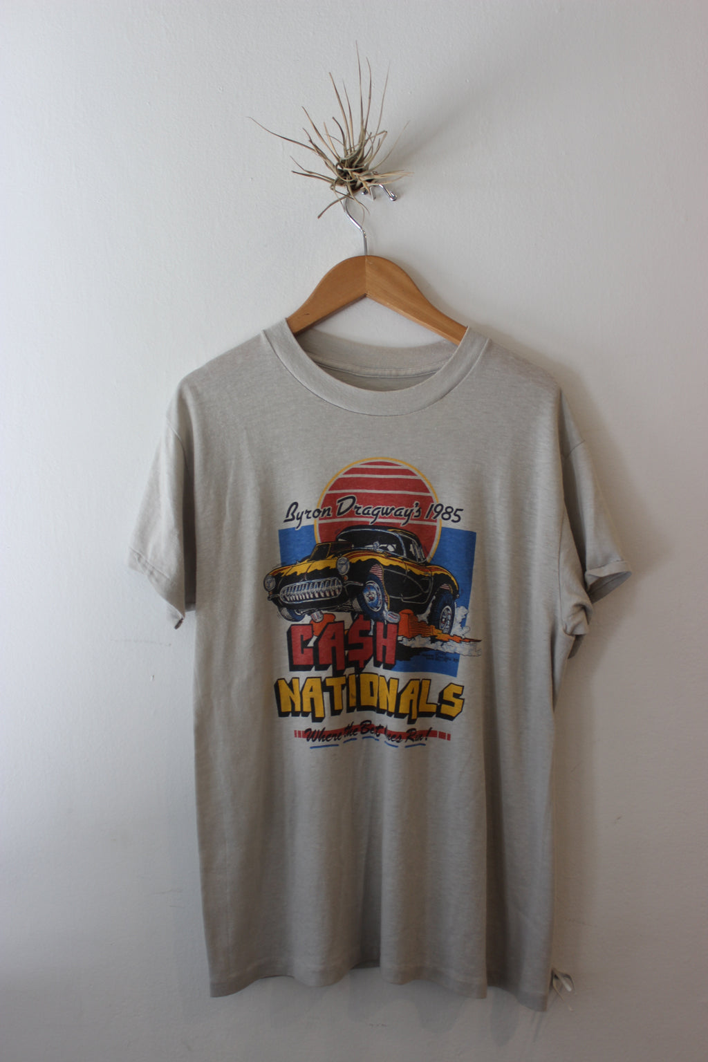 Vintage 1985 Byron Dragways Cash Nationals Tee