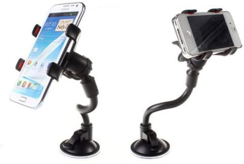 Long Arm Universal Car Soft Tube Suction Mount Holder