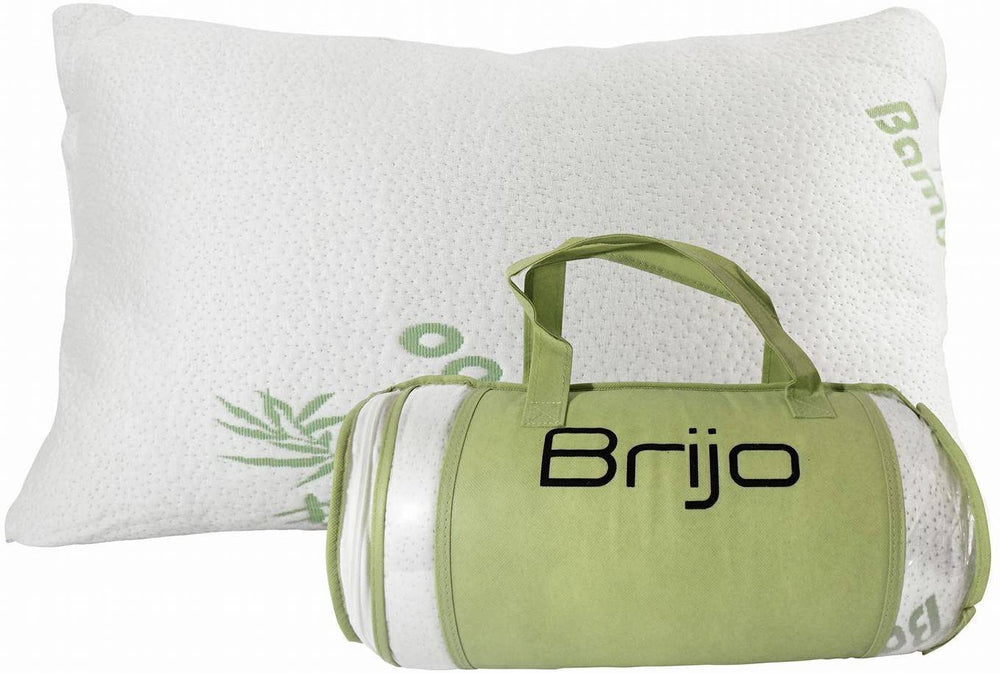 Brijo Bamboo Shredded Memory Foam Pillow
