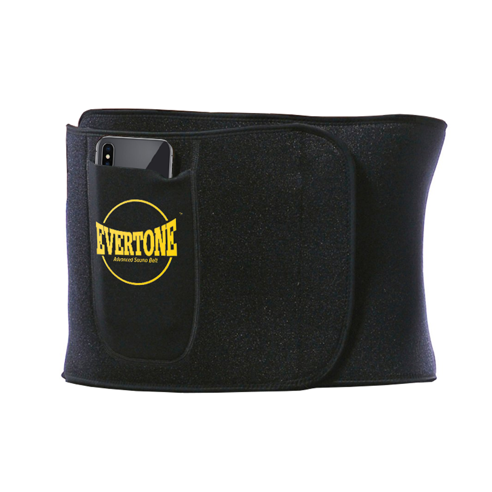 Evertone™ Waist Trimmer Advanced Sauna Belt - 3 Heat Conductive Layers - Graphene, Sauna and Neoprene