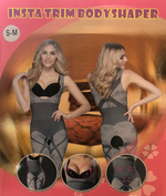 Bamboo Body Shaper with Back Cross Design
