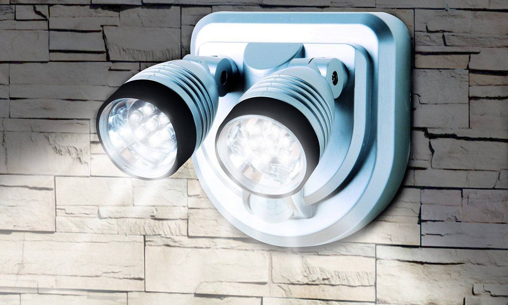Dual LED 360 Degree Spotlight