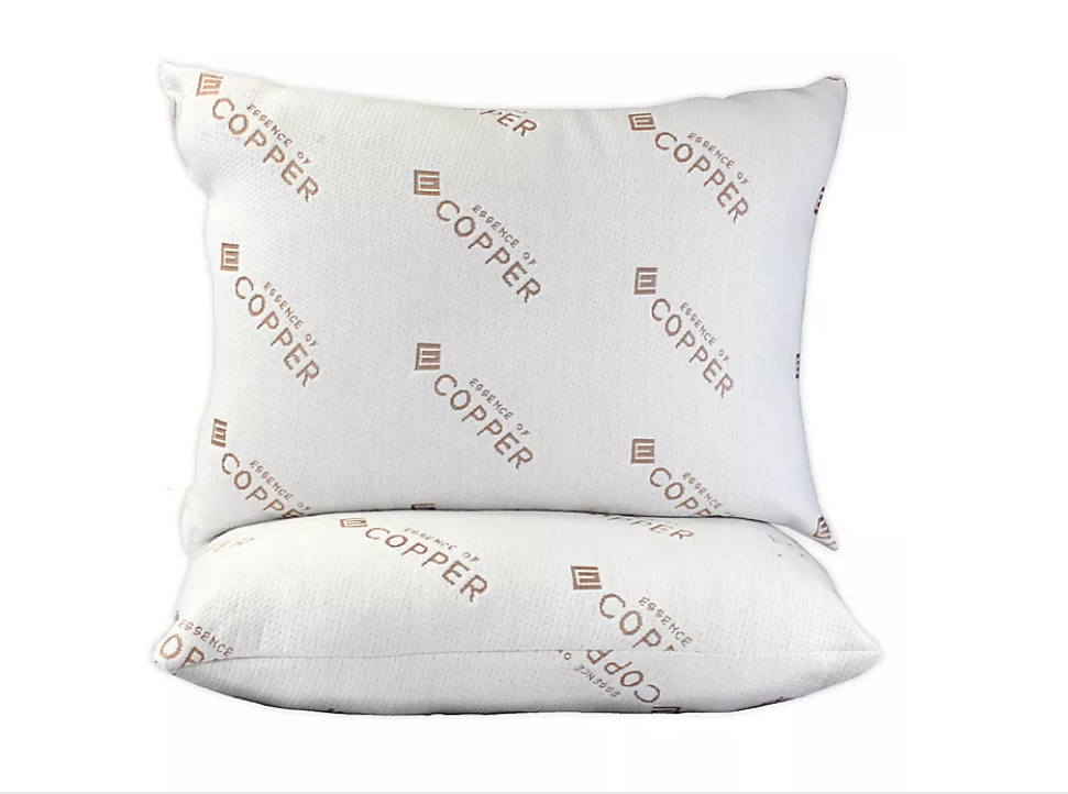 TOUCH OF COPPER PILLOW